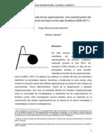 Panorama del estudio de las organizaciones. Una caracterización del campo organizacional con base en tres ejes temáticos