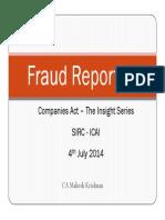 Fraud Reporting Final
