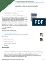 Cómo Calcular Los Costos Laborales en Un Restaurante _ EHow en Español