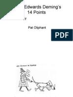 Deming 14 Management Points