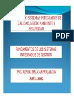 Fundamentos del Sistema de Gestión Integrado