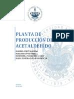 Planta de Acetaldehído