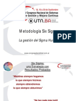 Congreso Six Sigma