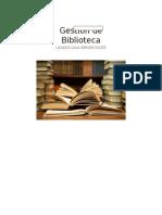 Ordóñez - Barragán - Gestión de Biblioteca