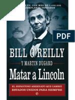 Bill O Reilly - Matar a Lincoln.pdf