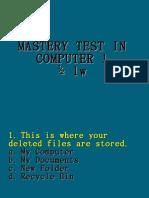 Periodical Test ComI