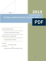 Ensayo Apps Moviles Web y Nativas
