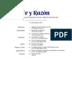 104 - Revista Fe y Razón