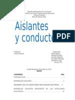 Aislantes y Conductores(Flasa)