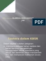 1. BMM3116 Tajuk 1 Sastera Dalam Pengisian Kurikulum Sekolah Rendah