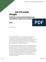 How the CIA Made Google — Medium