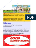 ORB RENOVATION - ENTREPRISE BATIMENT