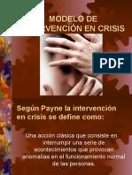 Modelo de Intervencion en Crisis