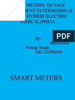 Smartmeters,OMS&PHEV