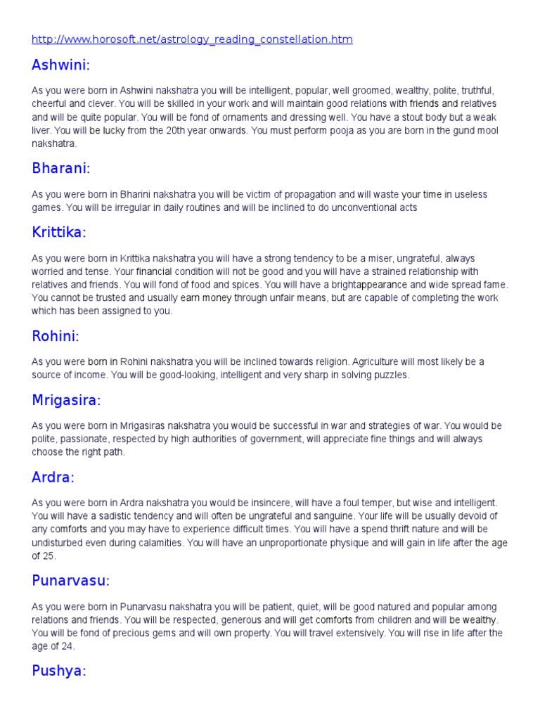Constellation   Astrology   Hindu Astrology