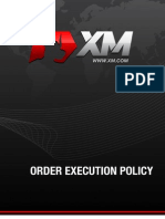 XM Order Execution Policy