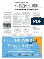The Daily Tar Heel Housing Guide for 2015-16