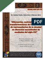 Teglia Lecture on Colonial Literature KU 2015