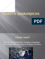 Robots Quirurjicos 1