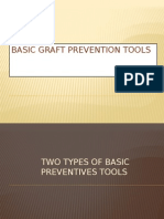 Basic Graft Prevention Tools