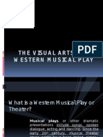 (Art) the Visual Arts in a Western Musical Play