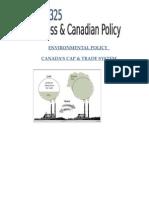 Environmental Policy Cap and Trade