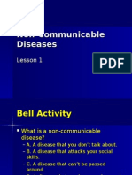 Non-Communicable Diseases ALL Lessons