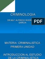Maestria en Criminologia