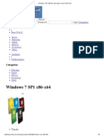 Windows 7 SP1 x86-x64 - Descargar Torrent TodoCVCD