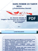 SOSIALISASI UU NO 23 TAHUN 2014 - Copy.ppt