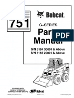 PDF Bobcat 751 Parts Manual Sn 515730001 and Above Sn 515620001 and Above