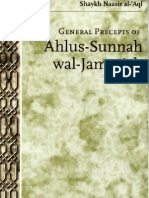 General Precepts of Ahlus Sunnah Wal Jamaa Ah