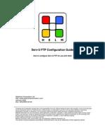 Serv-U FTP Configuration Guide