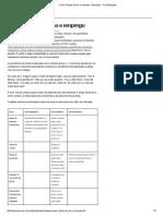 Crase_ Regras de Uso e Emprego - Educação - UOL Educação