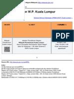 Jabatan Pendaftaran Negara Malaysia - Alamat Cawangan W.P. Kuala Lumpur - 2013-06-25