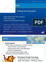 HPHT Solutions Drilling and Evaluation