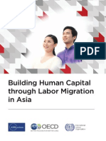 Building Human Capital through Labor Migration in Asia