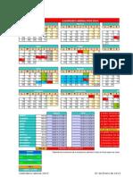 Calendario Laboral NTDD 2015