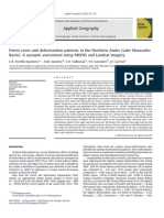 Forest Cover and Deforestation Patterns in the Northern Andes (Lake Maracaibo Basin- A Synoptic Assessment Using MODIS and Landsat Imagery