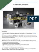 Industrial Applications of Brushless Servomotor