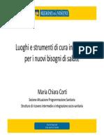 2015 Motore Sanità - Dott.ssa Maria Chiara Corti
