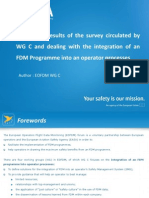 EASA FDM SURVEY