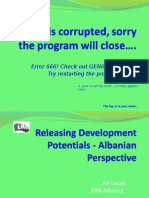 Releasing Development Potentials