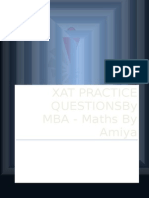 MBA Maths By Amiya - XAT Questions.docx