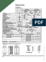 Heat Exchanger Data Sheet