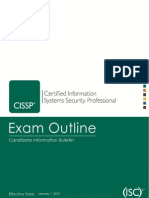 CISSP CIB Exam Outline