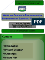 03_T1B_Water and Sanitation Requirements for Environmentally Sustainable Yangon City_Kyaw