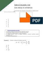 Preguntas y Destrezas en Matemáticas