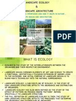 Importance of Ecology in Landscape Design