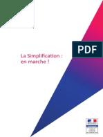 Synthèse - La simplification - En marche